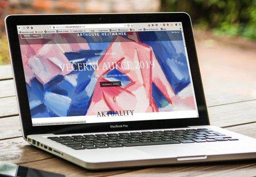 Arthouse Hejtmánek spouští nový web.