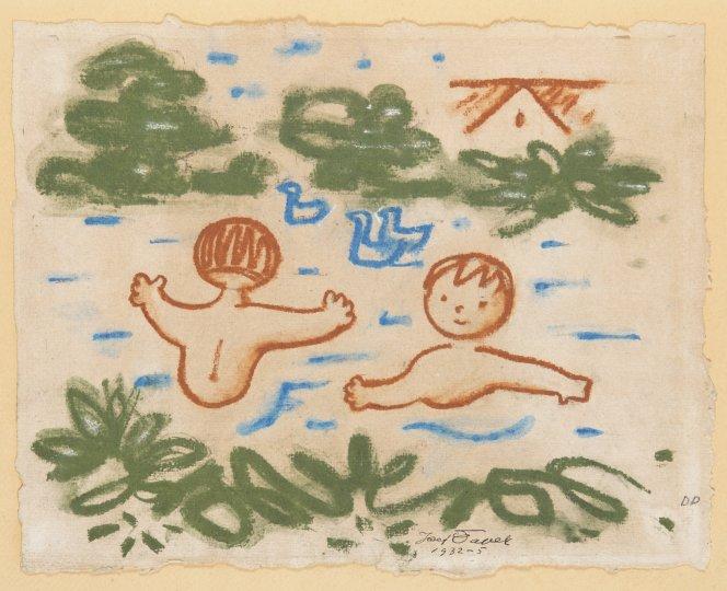 BATHING CHILDREN