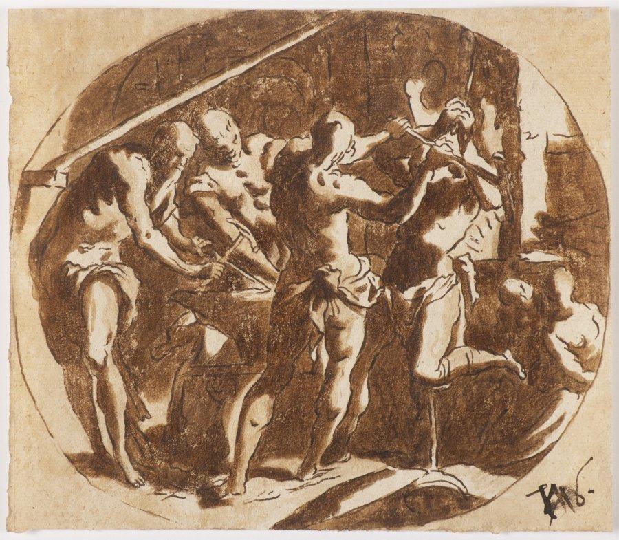 IN HEPHAISTOS' WORKSHOP