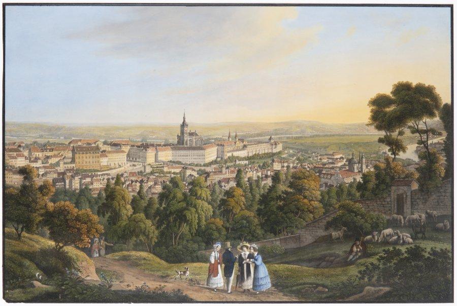 THREE VISTAS OF PRAGUE