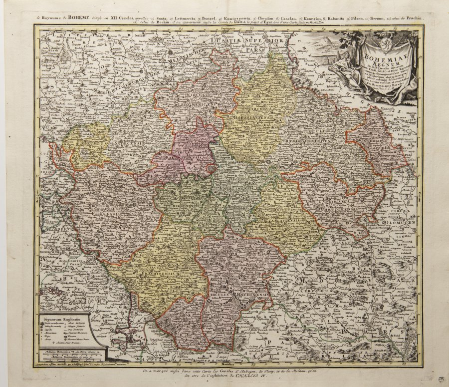 MAPS OF BOHEMIA AND MORAVIA