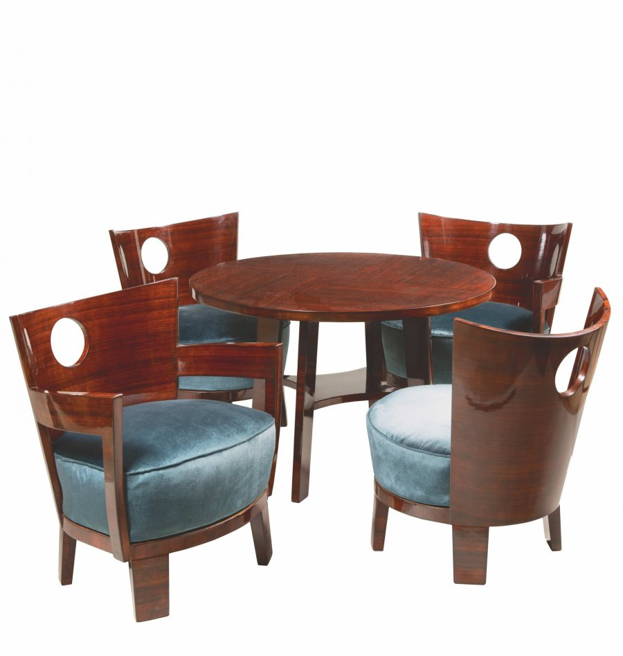 AN ART DECO SEATING GROUP