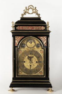 A BAROQUE TABLE CLOCK