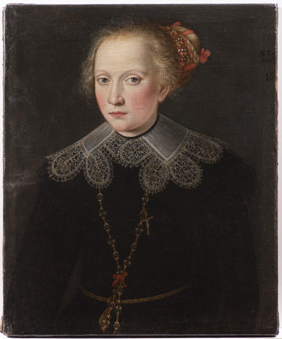 A GIRL'S PORTRAIT