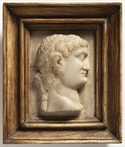 TWO RELIEF PORTRAITS OF ROMAN EMPERORS
