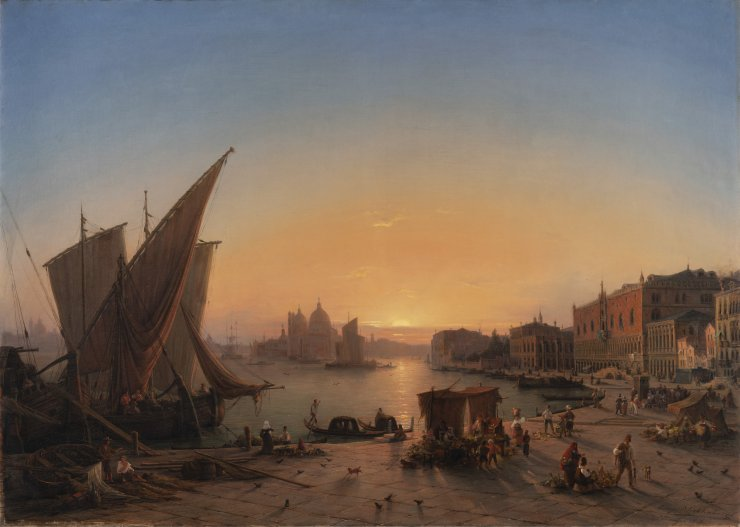 VENICE IN THE EVENING LIGHT