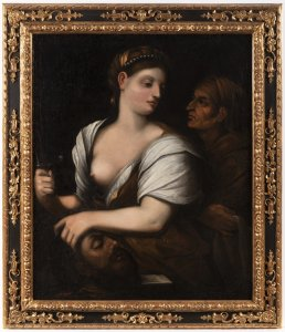 JUDITH WITH A HEAD OF HOLOFERNES