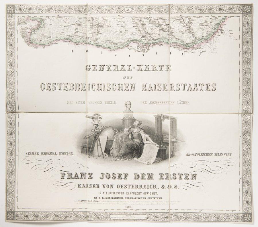 General-Karte des oesterreichischen Kaiserstaates von dem Kaiserlich-Königlichen Militär-Geographischen Institut