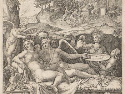 PSÝCHÉ A ERÓS (KUPIDO) S DCEROU HÉDONÉ