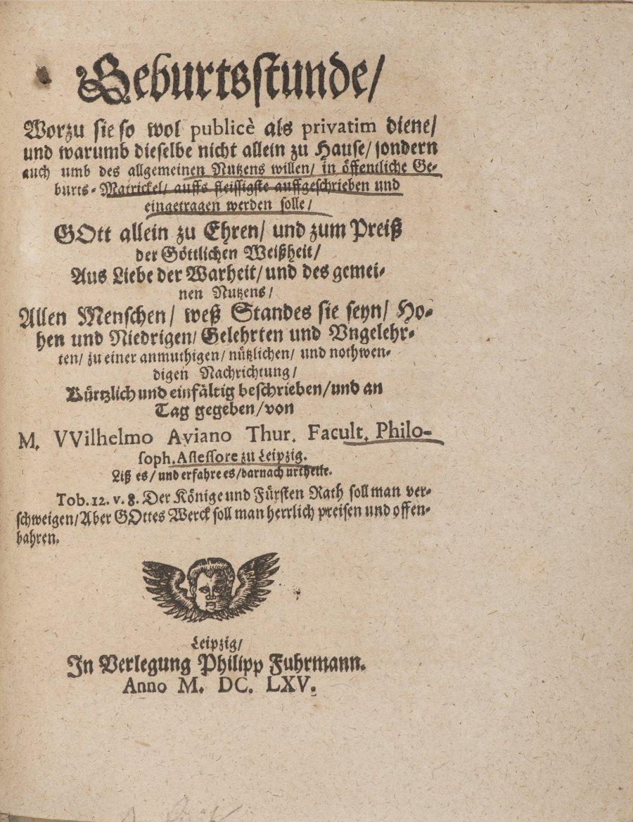 LUDICRUM CHIROMANTICUM SEU THESAURUS CHIROMANTIAE