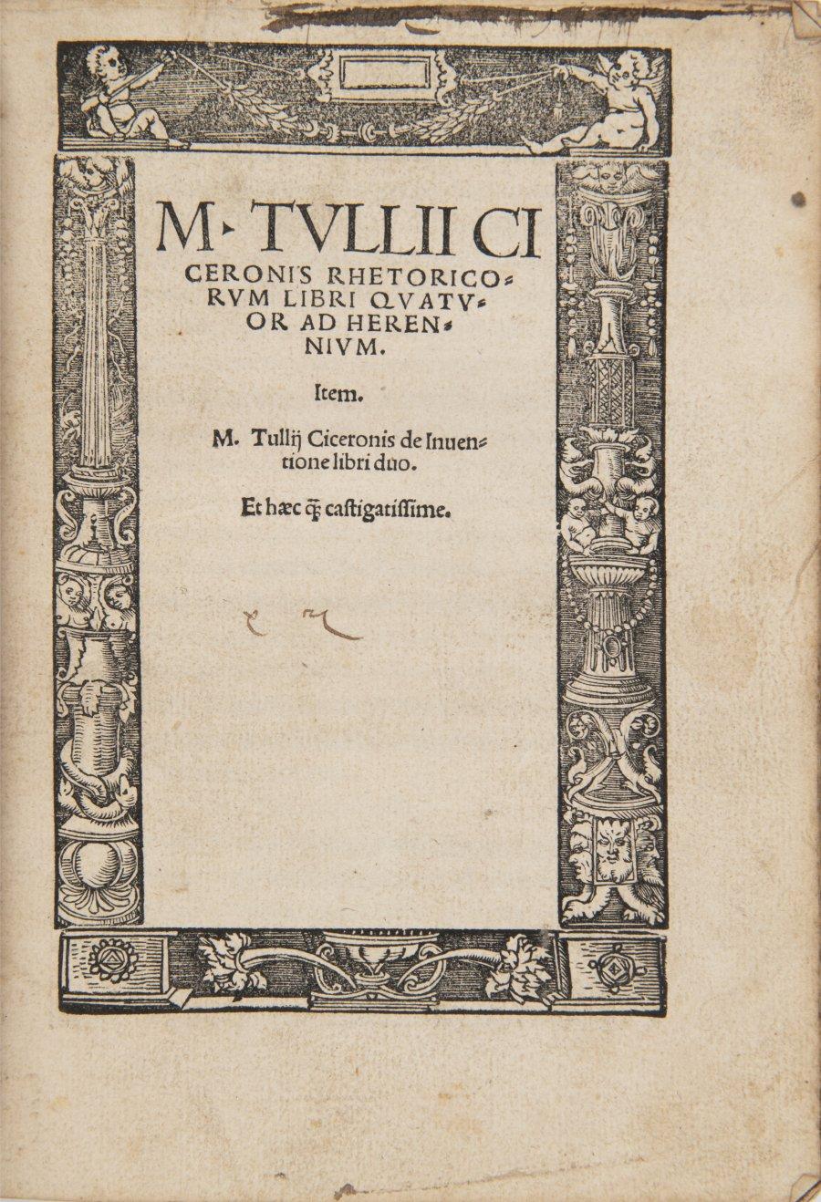 ČTYŘI RANÉ TISKY ŘÍMSKÉ ANTICKÉ KLASIKY