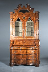 SECRETARY DISPLAY CABINET