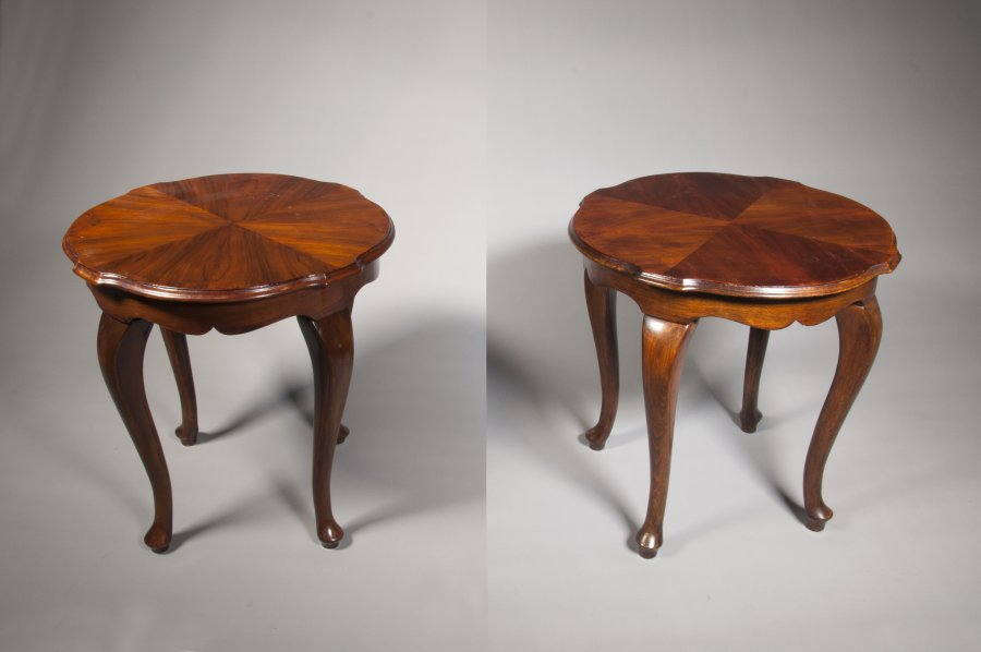 PAIRED SIDE TABLES
