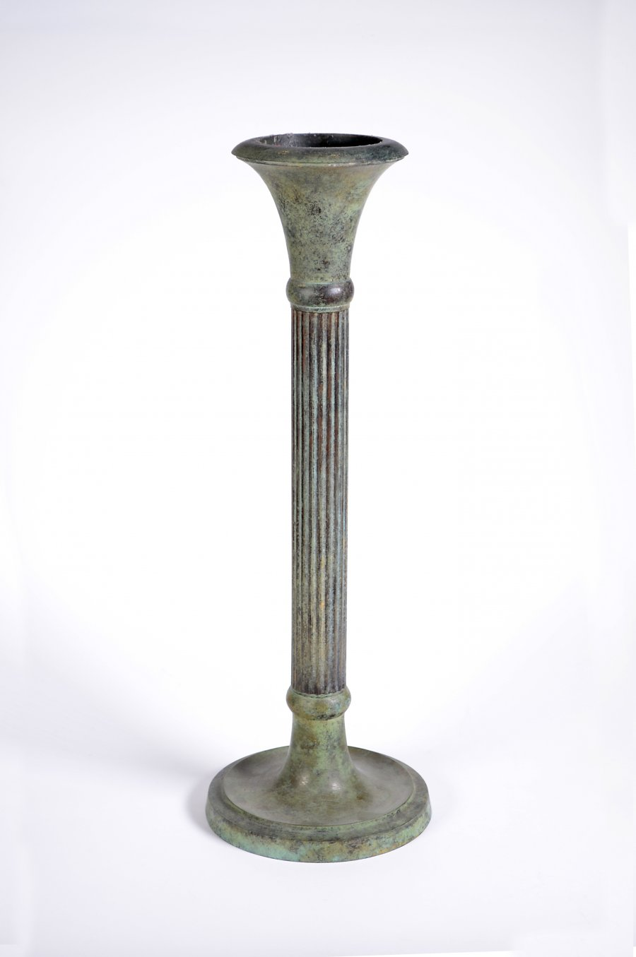 PATINATED CANDLESTICK