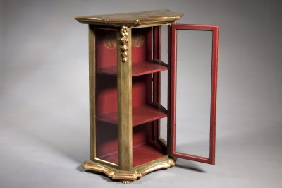 POLYCHROME DISPLAY CABINET