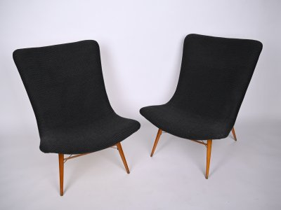 PAIR OF FUNCTIONALIST CHAIRS