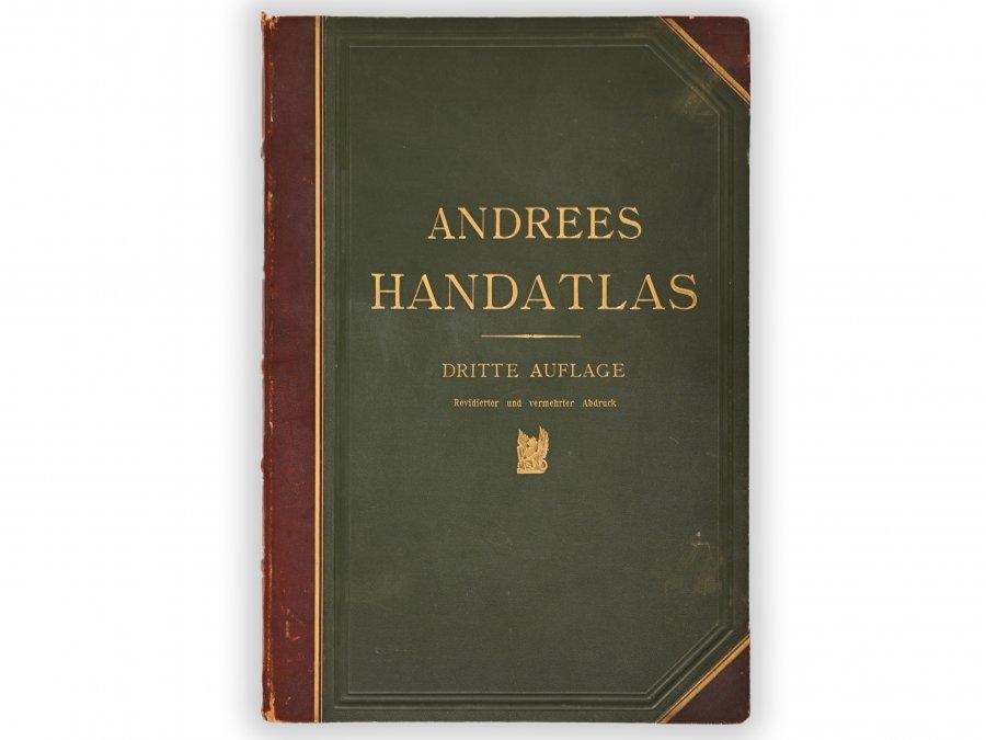 ANDREES ALLGEMEINER HANDATLAS