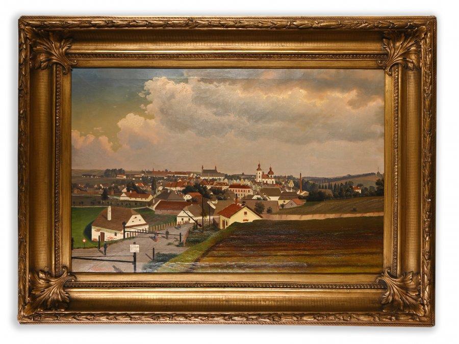 VEDUTA OF THE CZECH CITY
