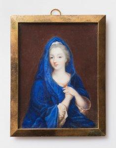 LADY IN A BLUE CLOAK