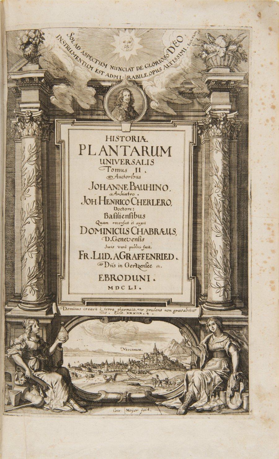 HISTORIAE PLANTARUM UNIVERSALIS