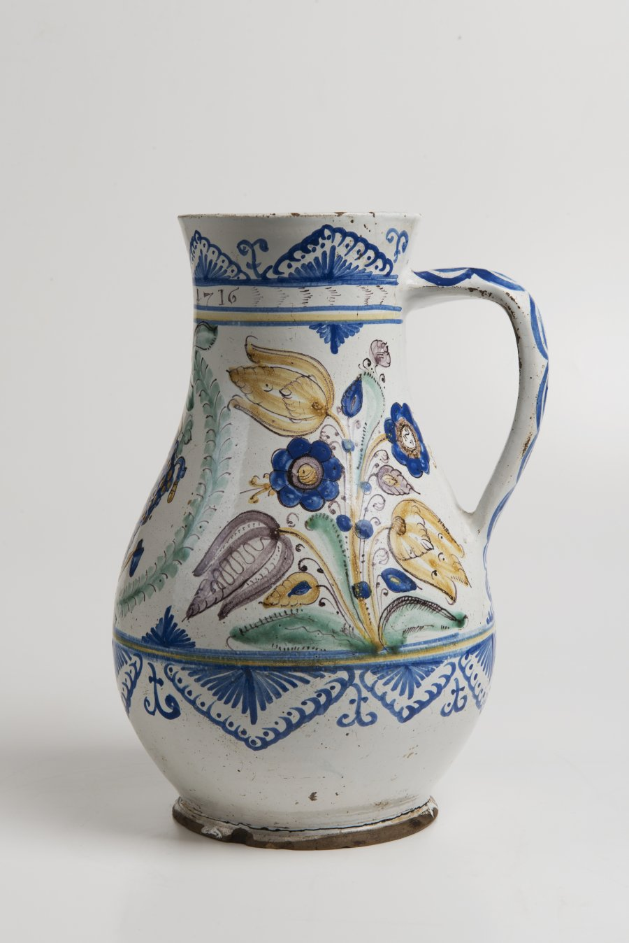 A HABÁN PITCHER OF THE VINTNERS GUILD