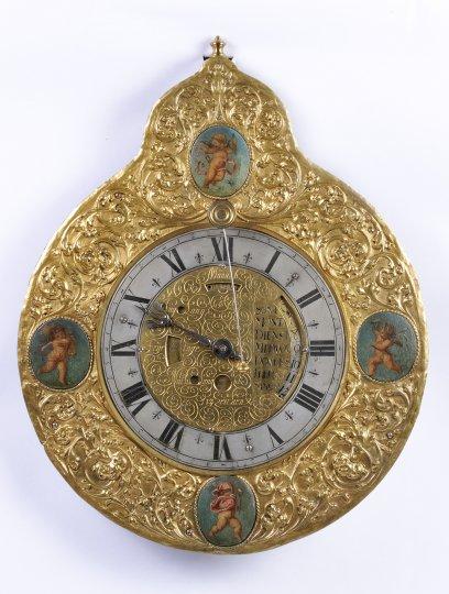 A PLATE CLOCK
