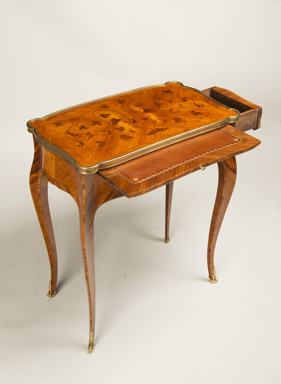 A PAIR OF GAME TABLES